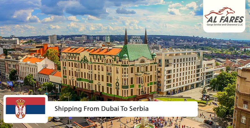 Shipping From Dubai To Serbia