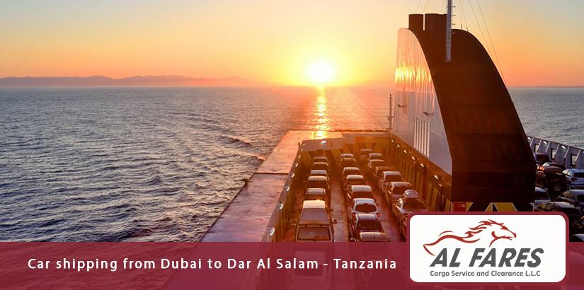 Car shipping from Dubai to Dar Al Salam - Tanzania