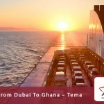 Car shipping from Dubai to Ghana - Tema