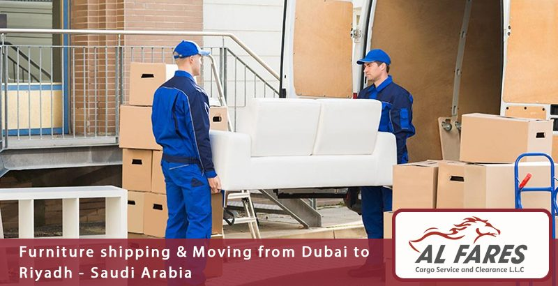 Furniture shipping & Moving from Dubai to Riyadh - Saudi Arabia