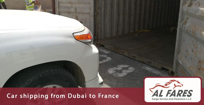 Car shipping from Dubai to France