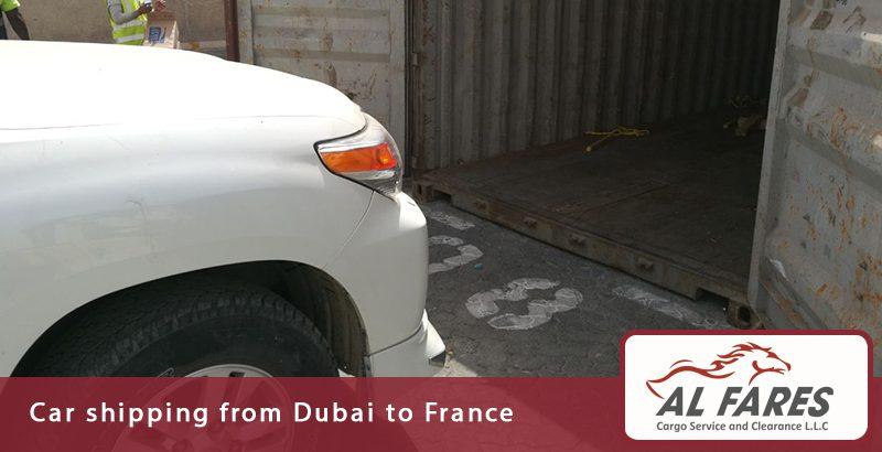 Car shipping from Dubai to France