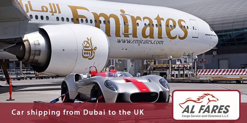 Car shipping from Dubai to the UK