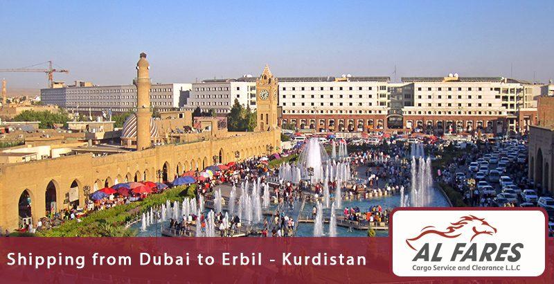 Shipping from Dubai to Erbil - Kurdistan