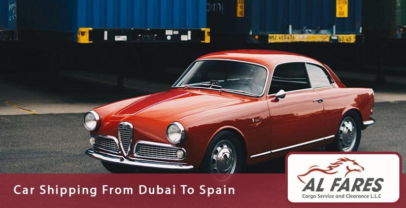 Car Shipping From Dubai To Spain
