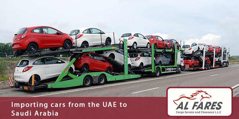 Importing cars from the UAE to Saudi Arabia
