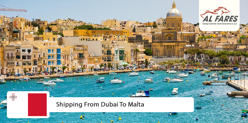 Shipping from Dubai to Malta
