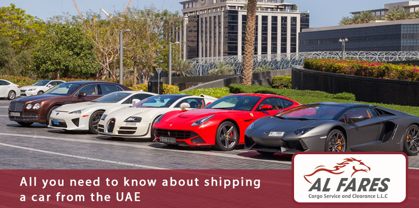 How to ship your car from the UAE