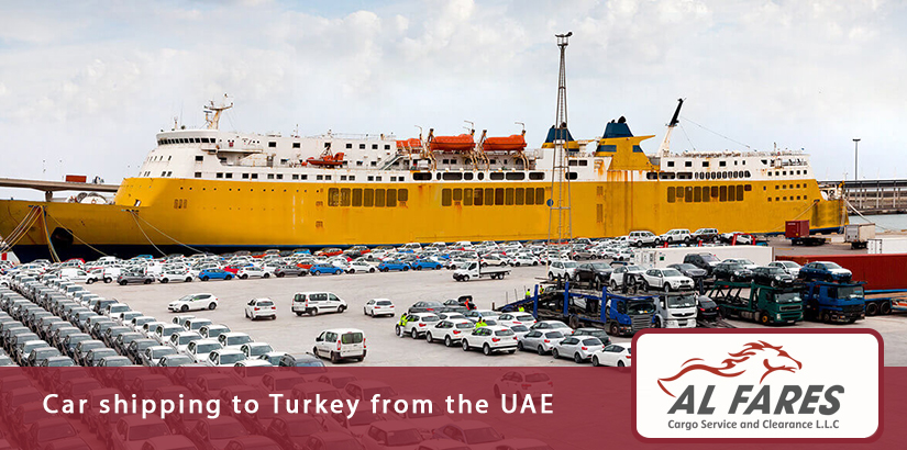 Car shipping to Turkey from the UAE