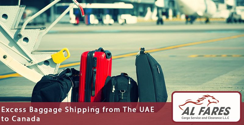 Excess Baggage Shipping from The UAE to Canada