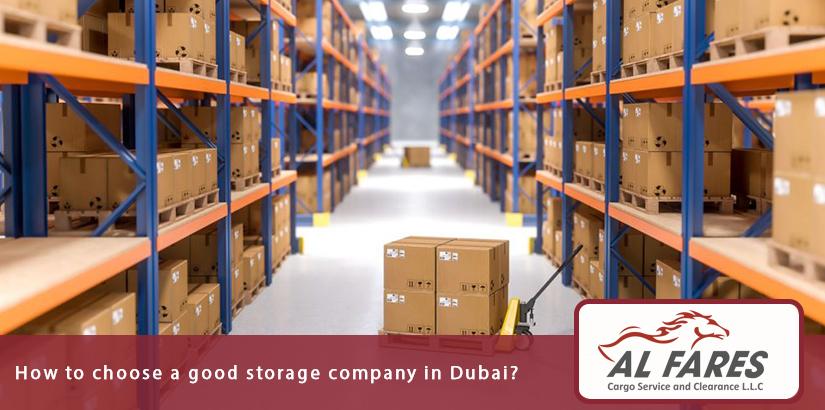 How to choose a good storage company in Dubai?