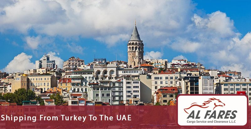 Shipping from Turkey to the UAE