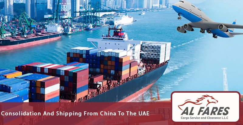 Consolidation And Shipping From China To The UAE