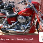 Motorcycle shipping methods from the UAE