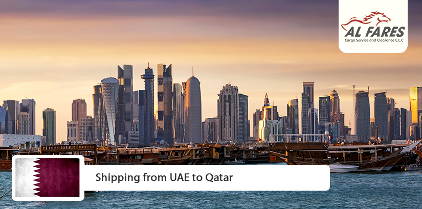 Shipping from UAE to Qatar
