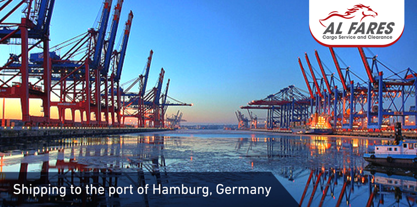 Shipping To The Port Of Hamburg, Germany