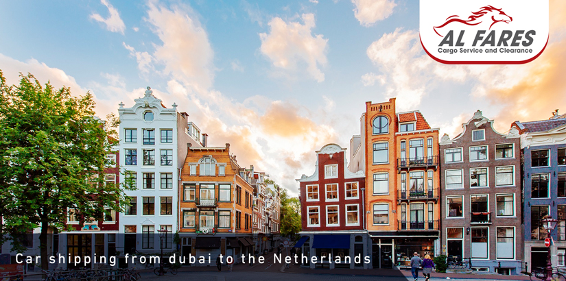 Car shipping from dubai to the Netherlands