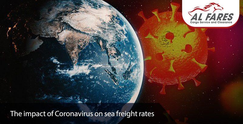 The impact of Coronavirus on sea freight rates