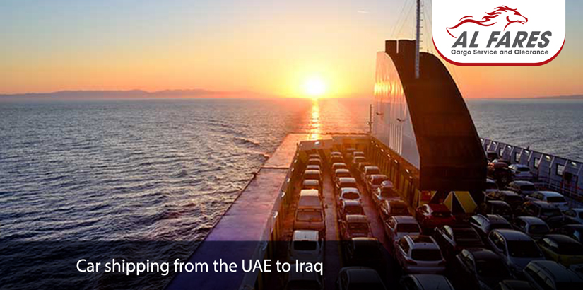 Car shipping from the UAE to Iraq
